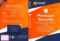 AVAST PREMIUM SECURITY na 1 PC a na 12 měsíců BOX